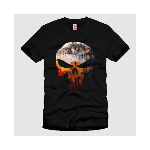 Punisher Grunge Tişörtü