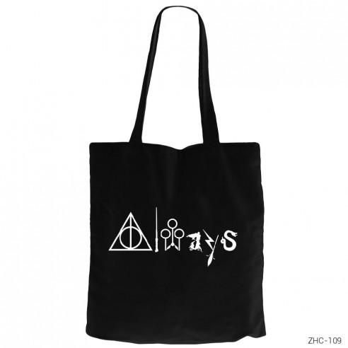 44d04948b920a Harry Potter - Always Kanvas Bez Çanta - Zepplin Giyim