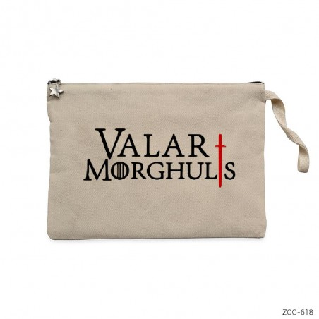 Game of Thrones Valar Morghuls Clutch Astarlı Cüzdan / El Çantası