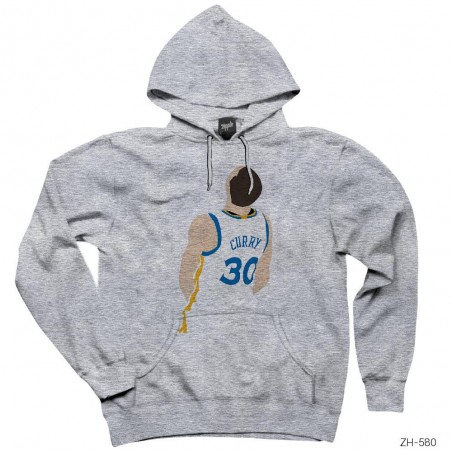 Stephen Curry Backward Kapşonlu Sweatshirt / Hoodie