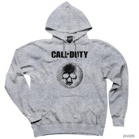 Call of Duty Skull Kapşonlu Sweatshirt / Hoodie