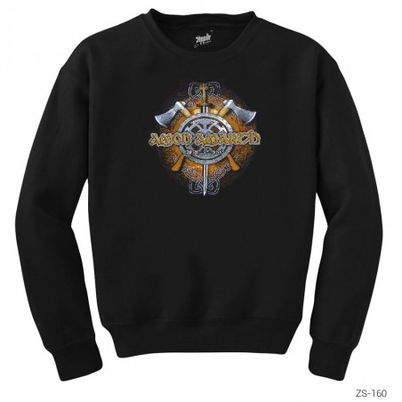 Amon Amarth Sword Axes Sweatshirt