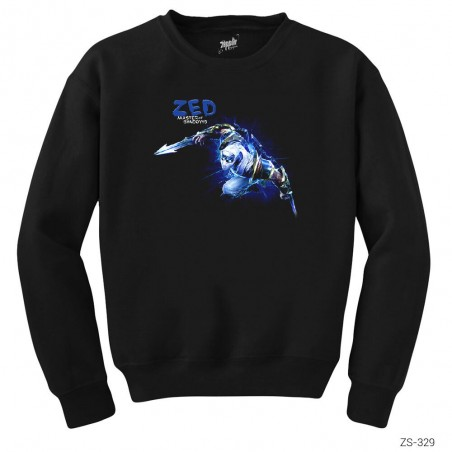 League of Legends Zed Blue Sweatshirt