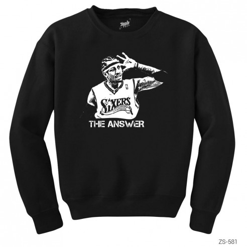 Allen Iverson The Answer Sweatshirt
