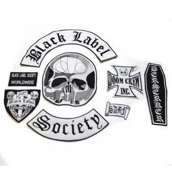 Black Label Society Sırt Set Patch Yaması