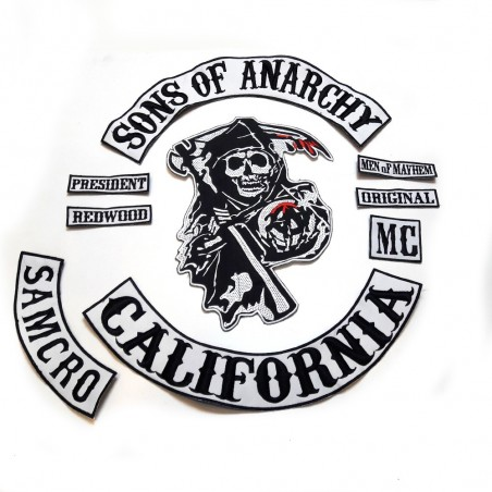 Sons Of Anarchy Sırt Set Patch Yama